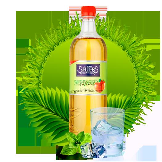 Минеральная вода Селтерс Шорле Яблоко 1.0 (Selters Apfelschorle) пэт